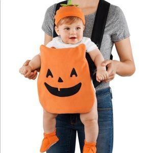 Carters- Halloween Pumpkin Carrier Costume